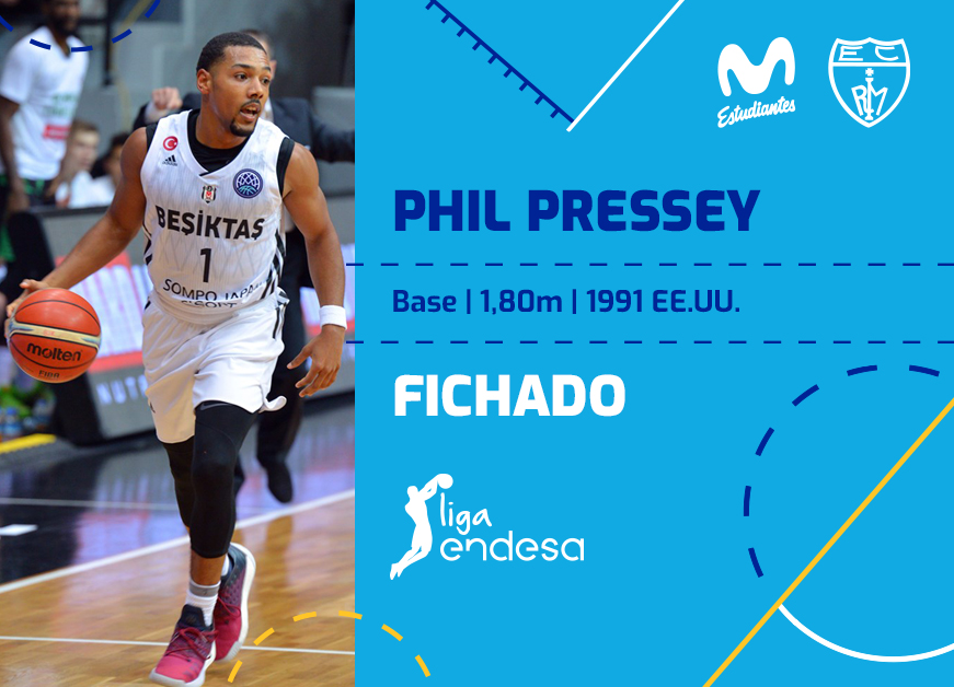 Phil Pressey llega a Movistar Estudiantes