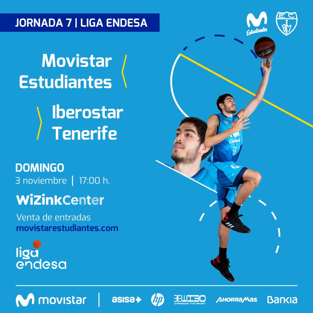 vs Iberostar Tenerife, domingo 3N 17h